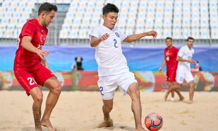 Plaj Futbolu Milli Takımı, Kazakistan'ı 9-2 Yenerek Finale Çıktı
