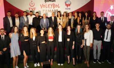Türk Voleybol Camiası, Voleybol Gecesinde Buluştu