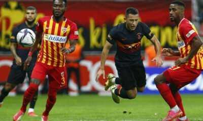 Galatasaray Deplasmanda Kayserispor'a Yenildi
