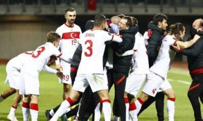 A Milli Futbol Takımı Letonya'yı 2-1 Mağlup Etti
