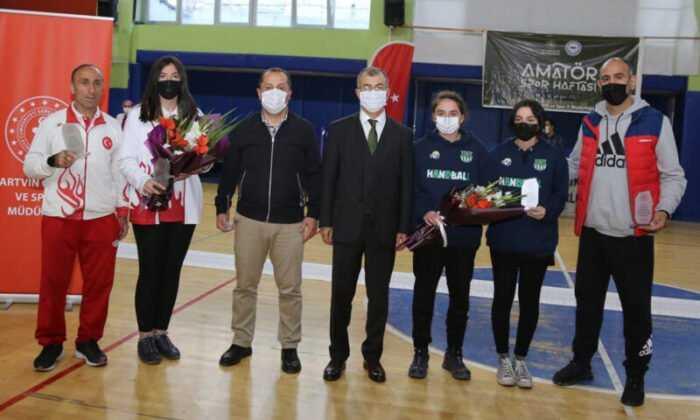 Artvin'de Amatör Spor Haftası Etkinlikleri Başladı