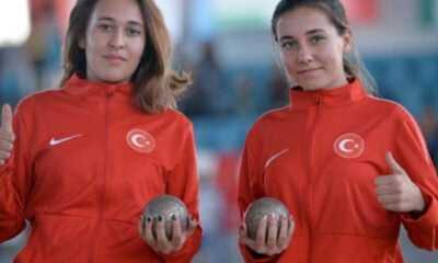 Bocce Şampiyonası'nda Buket Öztürk Altın, İnci Ece Öztürk Gümüş Madalya Kazandı