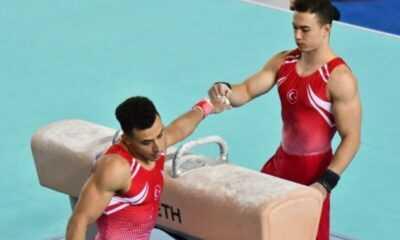 Cimnastikçi Ahmet Önder Dünya Beşincisi