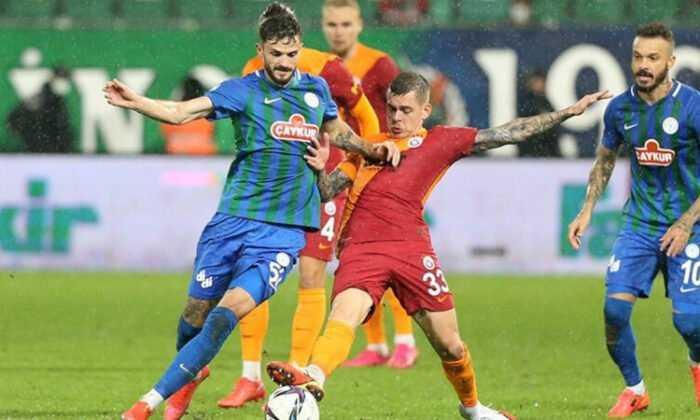 Galatasaray Rize'de Kazandı