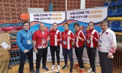 Gençler Avrupa Boks Şampiyonası'nda 6 Kadın Sporcumuz Yarı Finale Yükseldi