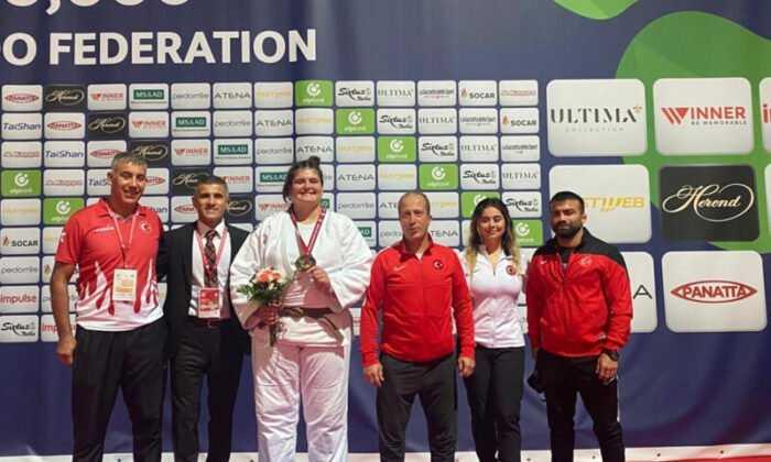 Gençler Dünya Şampiyonası'nda Hilal Öztürk Bronz Madalya ile Kapanışı Yaptı