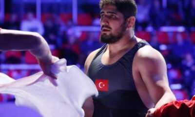 Güreşçi Osman Yıldırım 5. oldu.