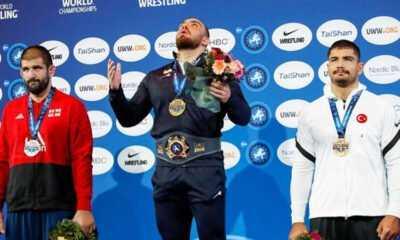 Güreşçi Taha Akgül Dünya Üçüncüsü Oldu