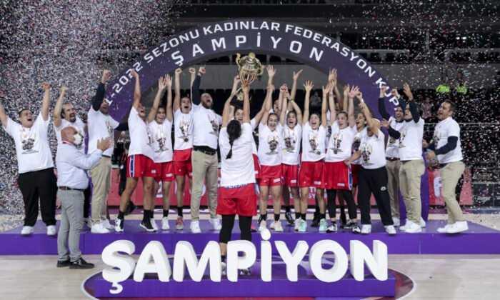 Kadınlar Federasyon Kupası'nda Şampiyon: Mersin Büyükşehir Belediyesi