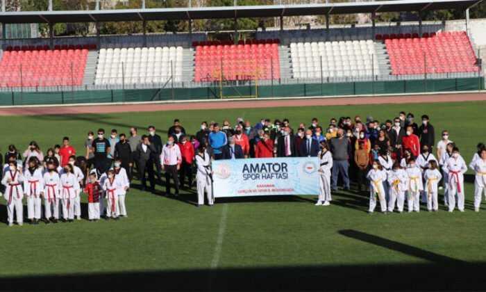 """Karaman'da """"Amatör Spor Haftası"""" Etkinlikleri Başladı"""