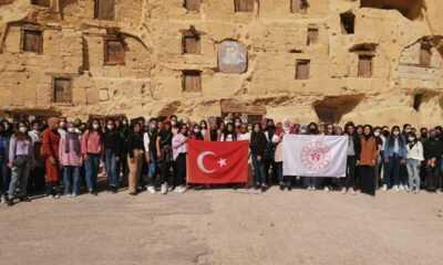 Karaman'da GSB Yurtlarında Kalan Üniversite Öğrencileri İçin Gezi Düzenlendi