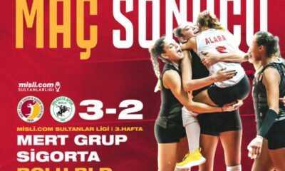 Mert Grup Sigorta Bolu Belediyespor'u Mağlup Etti