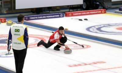 Milli Curlingciler Brezilya'yı Geçti