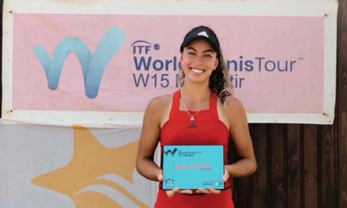 Milli Tenisçi Ayla Aksu Tunus'ta Şampiyon Oldu