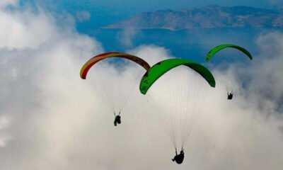Yamaç Paraşütünün 'En İyi Akrobasi Pilotları' Fethiye'de Buluşacak
