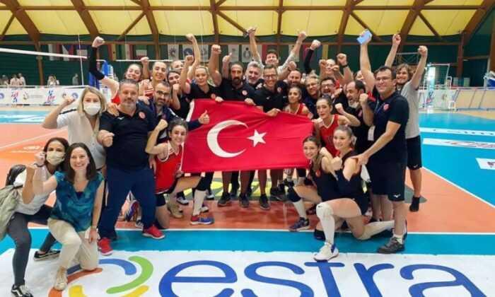 İşitme Engelliler Kadın Voleybol Milli Takımımız Dünya Şampiyonu Oldu